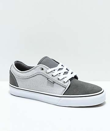 f6399a7bd8 Vans Chukka Low Pro Pewter   Frost Grey Skate Shoes
