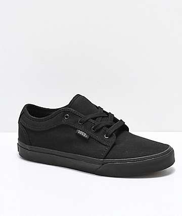 Vans Chukka Low Pro zapatos de skate negros