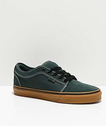 Vans Chukka Low Trekking Green & Black Skate Shoes