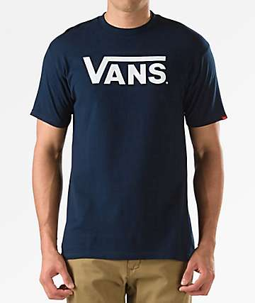Vans Classic Navy T-Shirt