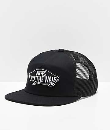0105ce4fed Vans Classic Patch Black   White Trucker Hat