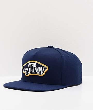 Vans Classic Patch Dress Blue Snapback Hat
