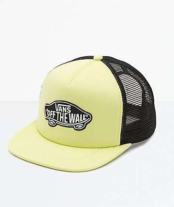 Vans Classic Patch Lime Snapback Hat