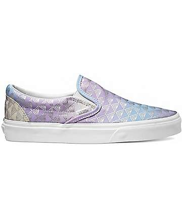 Vans Classic Rain Geo Slip-On Shoes