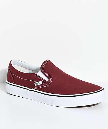 Vans Classic Slip-On zapatos de skate en rojo