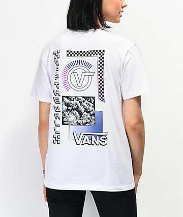 Vans Community Collage White T-Shirt