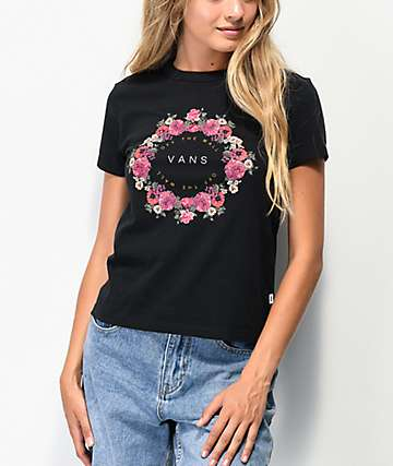 Vans Coronet Black Baby T-Shirt