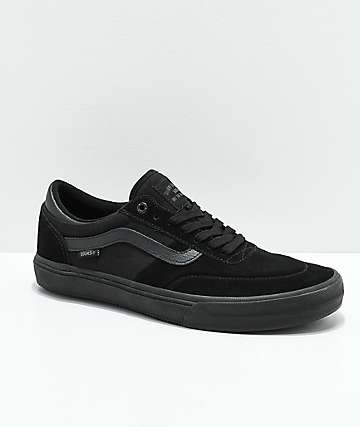 Vans Crockett 2 All Black Skate Shoes