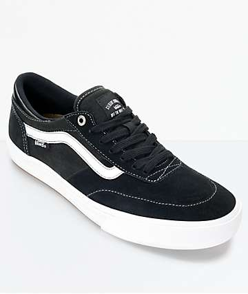 Vans Crockett 2 Black & White Shoes