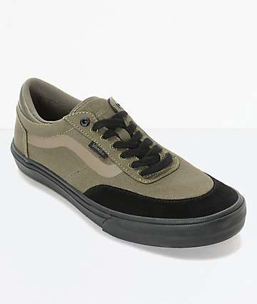 Vans Crockett 2 Ivy Green Skate Shoes
