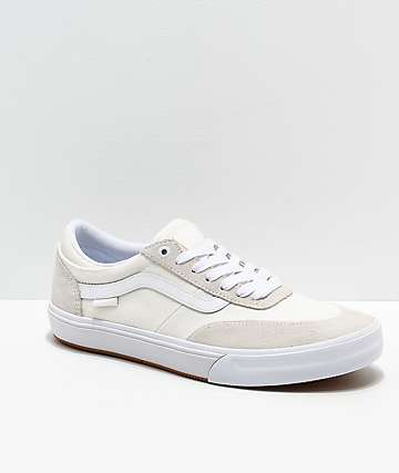 Vans Crockett 2 Marshmallow & White Skate Shoes