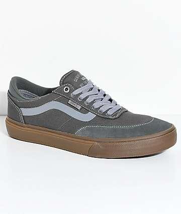 Vans Crockett 2 zapatos de skate en colores plomo y goma