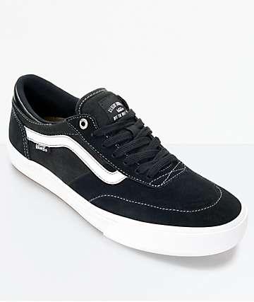 Vans Crockett 2 zapatos en blanco y negro