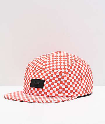 Vans Davis Emberglow Checker Strapback Hat