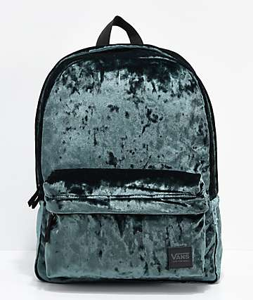 Vans Deana III Darkest Spruce Velvet 22L Backpack