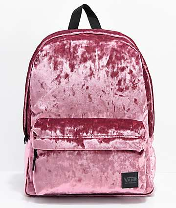 Vans Deana III Dry Rose Velvet 22L Backpack
