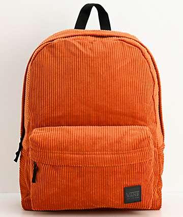Vans Deana III Potters Clay Corduroy Backpack