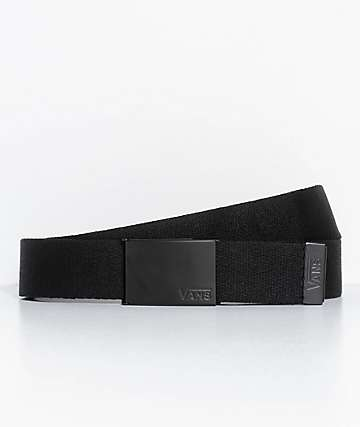 Vans Deppster II Black Web Belt