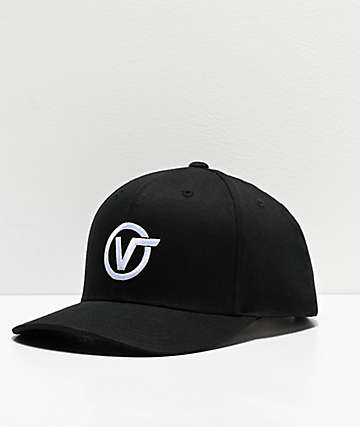 Vans Distorted 110 Black Snapback Hat
