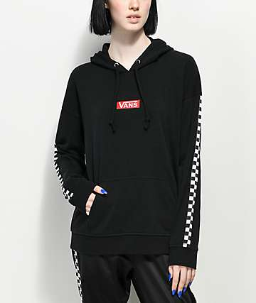 Vans Drop Black & White Checker Hoodie