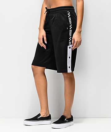 Vans Drop V Black Track Shorts