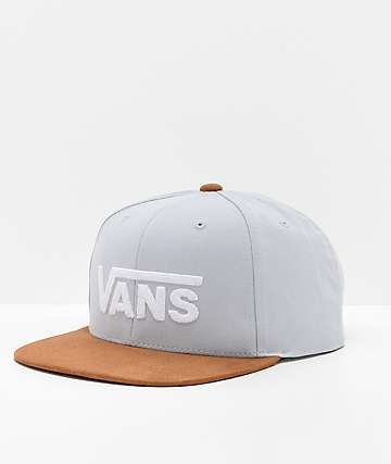 Vans Drop V II Heather Snapback Hat