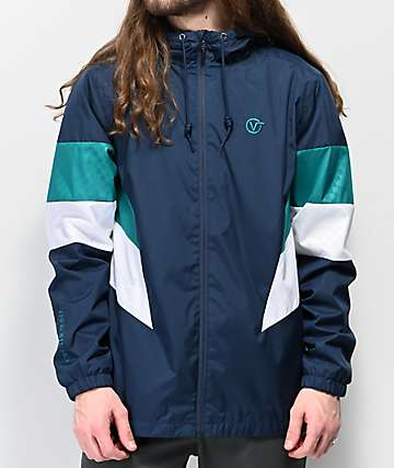 Vans Eastside Navy Windbreaker Jacket