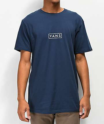 Vans Easy Box Navy T-Shirt