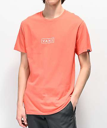 Vans Easy Box Red T-Shirt