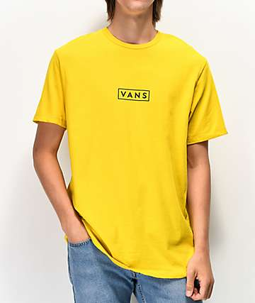 Vans Easy Box Sulphur & Black T-Shirt