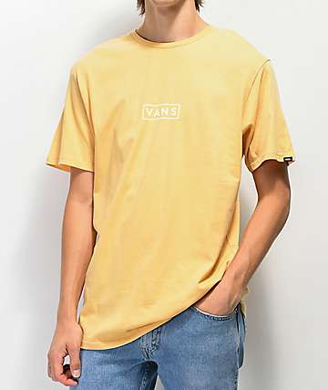 Vans Easy Box Wheat & White T-Shirt