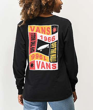 Vans Embraced Black Long Sleeve T-Shirt