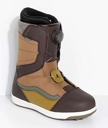 Vans Encore Brown Boa Snowboard Boots