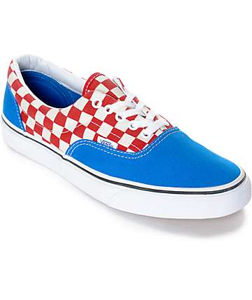 vans checkerboard era price