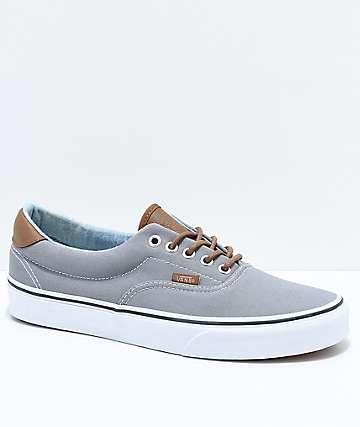Vans Era 59 C&L zapatos de skate en gris y mezclilla