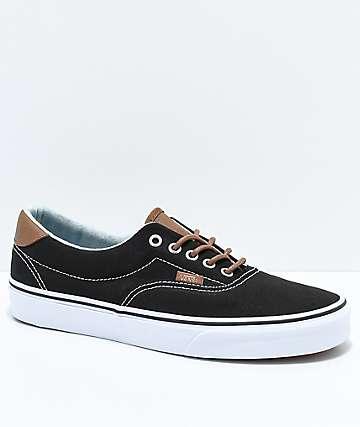 Vans Era 59 C&L zapatos de skate en negro y mezclilla
