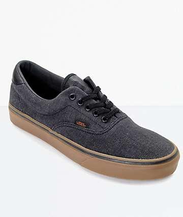 Vans Era 59 CL zapatos de skate en denim negro y goma