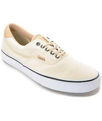 Vans Era 59 Veggie zapatos de skate en marrón y blanco