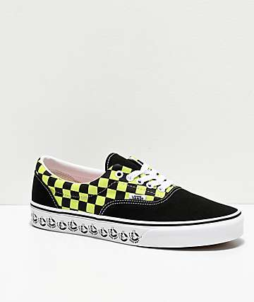 Vans Era BMX Black & Sharp Green Skate Shoes