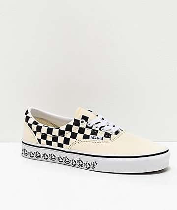 Vans Era BMX White & Black Skate Shoes