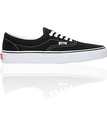 Vans Era Black & White Skate Shoes