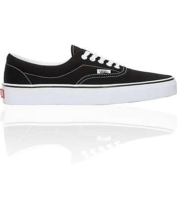 Vans Era Black & White Skate Shoes