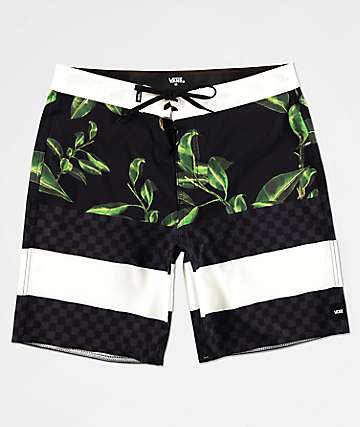 Vans Era Black Board Shorts