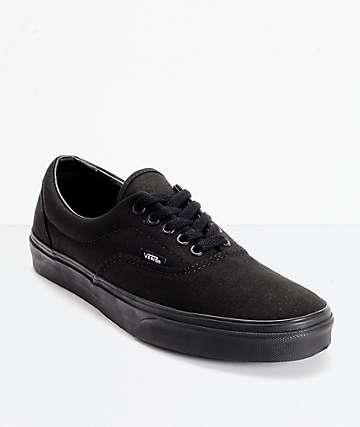 Vans Era Classic zapatos de skate todo negro