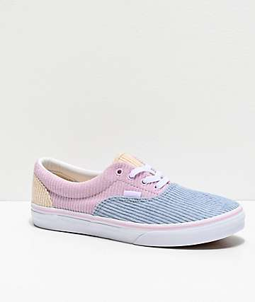 Vans Era Corduroy Colorblock Skate Shoes