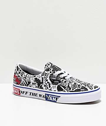 Vans Era Lady Vans White & Black Skate Shoes