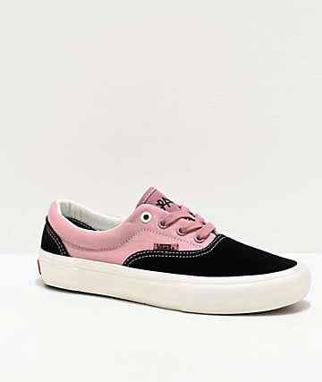 Vans Era Pro Lizzie Black & Nostalgia Rose Skate Shoes