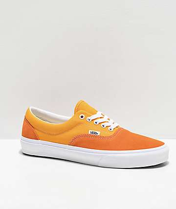 Vans Era Retro Gold Amberglow Skate Shoes