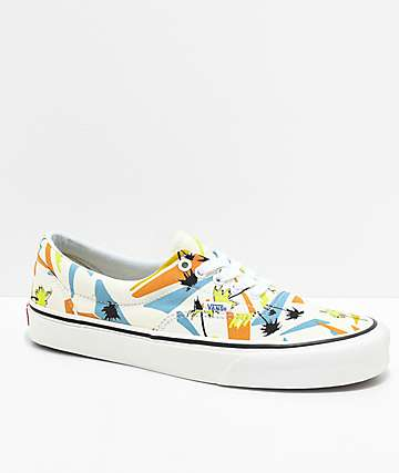 Vans Era SF Island Beach White & Multi Shoes