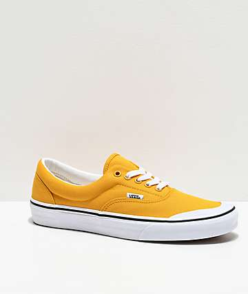 Vans Era TC Mango Mojito & White Skate Shoes